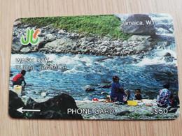 JAMAICA  J$50,-  GPT CARD   WASH DAY RURAL JAMAICA  CONTROL NR: 5JAMJ   Fine Used Card  **3227** - Giamaica