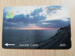 JAMAICA  J$20,-  GPT CARD   DAYS END  CONTROL NR: 7JAME   Fine Used Card  **3228** - Giamaica