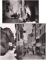2A. Pf. AJACCIO. Vieille Rue. 3 Cartes N° 2, 6 & 8 - Ajaccio