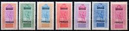 Col17  Colonie Soudan N° 53 à 59 Neuf X MH Cote 36,00€ - Neufs