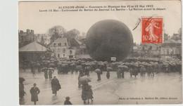 Alençon Orne( Enlèvement Du Ballon Du Journal La Sarthe / Ballon Avant Le Départ - Alencon