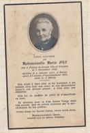 20A1250 IMAGE PIEUSE MORTUAIRE MARIE JOLY PLELAN LE GRAND MARAY 1951 - Images Religieuses