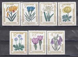 Bulgaria 1972 - Flowers, Mi-Nr. 2197/203, Used - Usados