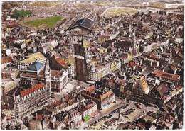 59. Gf. LILLE. La Bourse, La Grand' Place, La Rue Faidherbe. Vue Aérienne. 91-41 - Lille