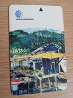 JAMAICA  J$50-  GPT CARD   FRUIT MARKET  CONTROL NR: 282JAMB   Fine Used Card  **3239** - Giamaica