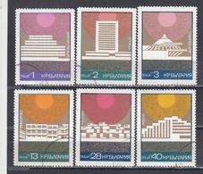 Bulgaria 1972 - Resorts On The Black Sea, Mi-Nr. 22179/84, Used - Usados