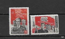 URSS - 1950 - N. 1444/45* (CATALOGO UNIFICATO) - 1923-1991 USSR