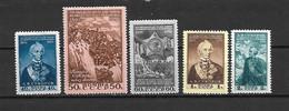 URSS - 1950 - N. 1450/54* (CATALOGO UNIFICATO) - 1923-1991 UdSSR