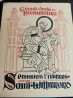 Grand-duché De Luxembourg, 1939 Émission De Timbres Saint Willibrord - Used Stamps