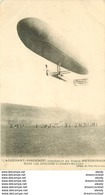 """WW AVIATION. Le Ballon Saucisse Dirigeable """" Adjudant Vincent """" En Tissu Ateliers Clément-Bayard Impeccable Et Vierge - Airships"""