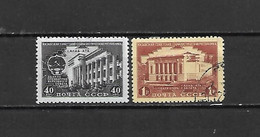 URSS - 1950 - N. 1521* - N. 1522 USATO (CATALOGO UNIFICATO) - 1923-1991 USSR
