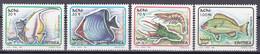 Tr_ Eritrea 1995 - Mi.Nr. 51 - 54 - Postfrisch MNH - Tiere Animals Fische Fishes - Fishes