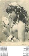 WW ALGERIE. Scènes Et Types. Jeune Fille Arabe à La Poitrine Nue 1916 - Escenas & Tipos