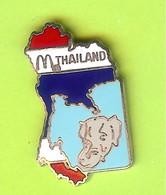 Pin's Mac Do McDonald's Thailand Éléphant -  7C21 - McDonald's