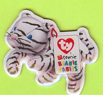 Pin's Mac Do McDonald's TY Teenie Beanie Babies Tigre Blanc - 7C22 - McDonald's