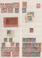 Deutsche Auslandspostämter + Kolonien: 1875/1920, Interessante, Spezialisierte Sammlung In Großem Ei - Allemagne