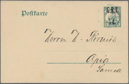 Deutsche Auslandspostämter + Kolonien: 1882/1914, Partie Von 17 Gebrauchten Ganzsachen, Dabei Türkei - Allemagne