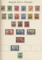 Deutsche Auslandspostämter + Kolonien: 1884/1919, Saubere Gestempelte Qualitäts-Sammlung Von China B - Allemagne