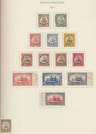 Deutsche Auslandspostämter + Kolonien: 1888/1915, Liebevoll Und Individuell Zusammengetragene Sammlu - Allemagne