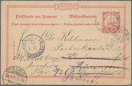 Deutsche Auslandspostämter + Kolonien: 1895/1911, Schöner Posten Mit 42 Belegen überwiegend Aus Den - Allemagne