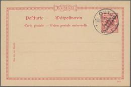 Deutsche Auslandspostämter + Kolonien: 1897/1908, Lot Von 33 Ungebrauchten Und Gebrauchten Ganzsache - Allemagne