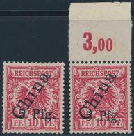 Deutsche Auslandspostämter + Kolonien: 1900/1919, Partie Von Fünf Belegen Samoa, Karolinen, Kamerun, - Allemagne