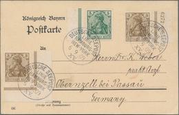Deutsche Auslandspostämter + Kolonien: 1901/18, Zwölf Div. Belege Aus Den Kolonien Und Auslands-PÄ M - Allemagne