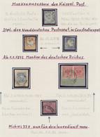 Deutsche Auslandspostämter + Kolonien: Eine überaus Interessante Postgeschichtliche Sammlung Der Deu - Allemagne