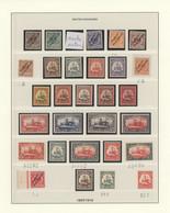Deutsche Kolonien: 1897-1919, Postfrische Sammlung Im Vordruck Und Auf Zusätzlichen Blättern, Dabei - Allemagne