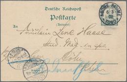 Deutsche Kolonien: 1898/1914, Sammlungsbestand Mit Ca.150 Ungebrauchten U. 20 Gebrauchten Ganzsachen - Allemagne