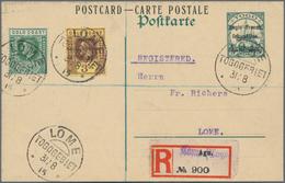 Deutsche Kolonien: 1900-1915, Partie Mit 24 Briefen Und Belegen Aus Verschiedenen Kolonien, Dabei Et - Allemagne
