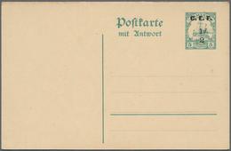 Deutsche Kolonien - Kamerun - Britische Besetzung: 1915, GANZSACHEN, Partie Von 14 Ungebrauchten Kar - Colonie: Cameroun