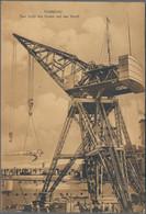 """Deutsche Kolonien - Kiautschou: 1904/08, AK (8, Davon 5 Gelaufen Nach D, 1x Marke Entfernt), Dabei """" - Colonie: Kiautchou"""