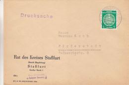 Allemagne - République Démocratique - Lettre De 1959 - Imprimé - Oblit Stassfurt - - Briefe U. Dokumente