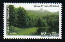2006 TURKEY THE WORLD FOREST DAY MNH ** - 1921-... República