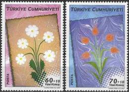 2007 TURKEY TRADITIONAL TURKISH ARTS - MARBLING MNH ** - 1921-... República