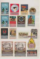 Vignetten: 1900/1914 (ca.), Deutschland, Vielseitige Sammlung Von Ca. 200 Reklame-Vignetten Und Ca. - Erinnofilia