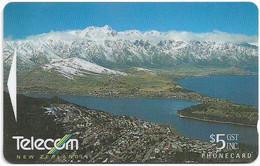 New Zealand - NZT (GPT) - General Issue 1996 Amazing Aotearoa - Queenstown - 322BO - 1996, 5$, 38.200ex, Used - Nuova Zelanda
