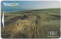 New Zealand - NZT (GPT) - General Issue 1996 Amazing Aotearoa - Sand Dunes - 321CO - 1996, 10$, 33.000ex, Used - Nuova Zelanda