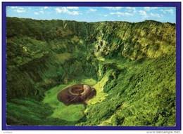 El Salvador - El Voqueron ,Crater Del Volcan Vulcan Volcano - Stamp Timbre (2 Scans) - El Salvador