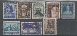 ITALIA 1949-54 - Lotto Usati Con Filigrana Lettere         (g6549) - Lotti E Collezioni