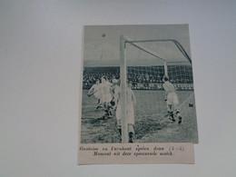 """Origineel Knipsel ( 7017 ) Uit Tijdschrift """"  De Stad """" 1936 : Voetbal  Football   Turnhout -  Gantoise - Non Classés"""