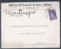 Carta Da Empresa Assucareira Do Buzi, Moçambique. Letter From Assuming Company Of Buzi, Mozambique. Zucker. Sugar. - 1910-... République