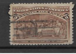 1893 USED USA Mi 77 - Usati