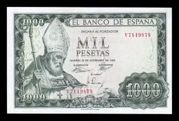 España Spain 1000 Pesetas San Isidoro 1965 Pick 151 Serie V EBC XF - [ 3] 1936-1975 : Regime Di Franco