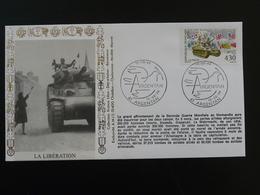 Lettre Commemorative Cover Libération Argentan 61 Orne 1994 - 2. Weltkrieg