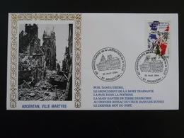 Lettre Commemorative Cover 60 Ans De La Libération Argentan 61 Orne 2004 - 2. Weltkrieg