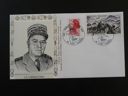 Lettre Commemorative Cover Maréchal Juin Débarquement D'Algérie Port Vendres 66 Pyrénées Orientales 1995 - Guerre Mondiale (Seconde)