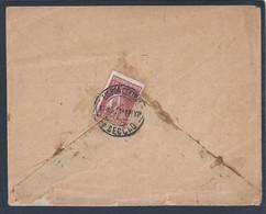 Carta Da Companhia De Seguros Lloyd Transatlântico, Lisboa, 1921. Stamp 10c Ceres. - 1910-... République