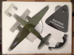 Avion Métal Curtiss C-46 Commando - Complet Dans Emballage De Protection - Army
